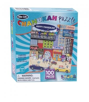 Puzzle de Hanouka 100 pièces