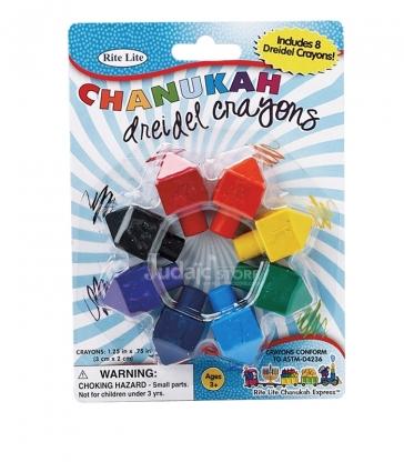 Crayons Toupie de Hanouccah
