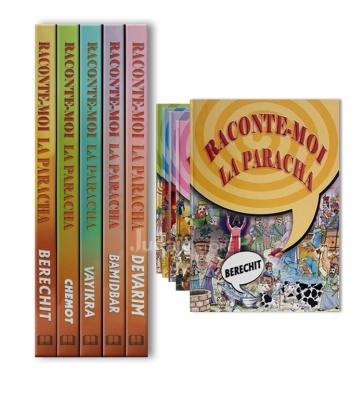 Coffret Raconte moi la Paracha - 5 Volumes