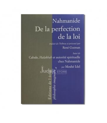 Nahmanide de la perfection de la loi