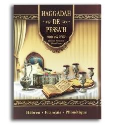 La hagada de pessah - hébreu -français - phonetique
